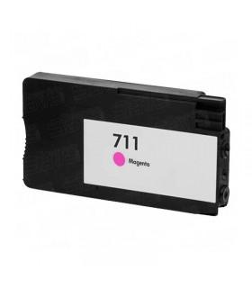 HP 711 MAGENTA CARTUCHO DE TINTA COMPATIBLE CZ131A COMPATIBLE CON HP DesignJet T120 / T520 / T520 24