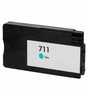 HP 711 CYAN CARTUCHO DE TINTA COMPATIBLE CZ130ACOMPATIBLE CON HP DesignJet T120 / T520 / T520 24 Inc