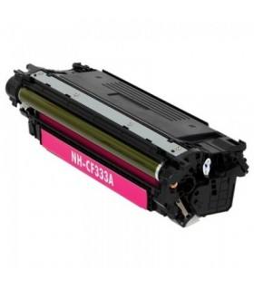 HP CF333A MAGENTA toner compatible Color Laserjet Enterprise M650 / M651