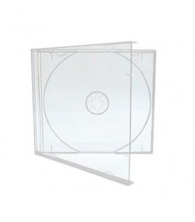 cajas cd transparentes simples Jewel Case Mediarange Transparente (Pack 100 Uds)