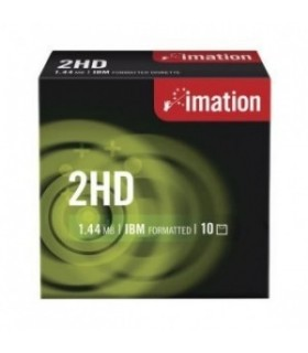 Diskettes Imation 1.44MB HD-MF2 Pack de 10 Uds.