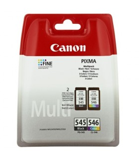 Cartucho Original CANON PG-545/CL-546 negro-color MULTIPACK 8287B006