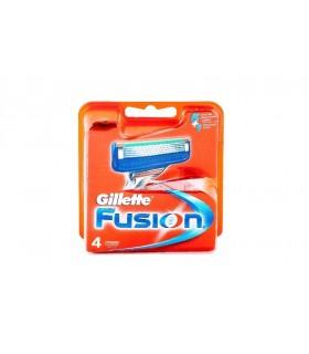 Gillette Fusion cartuchos de 4 recambios