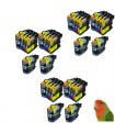 BROTHER LC123/LC121 DCP-J4110 MFC-J4510 MFC-J650 PACK 30 TINTAS compatibles