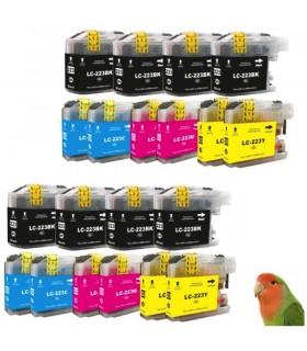 20 Tintas para LC223 MFC-J4420DW J4620DW J680DW J880 DCP-J4120DW J562DW