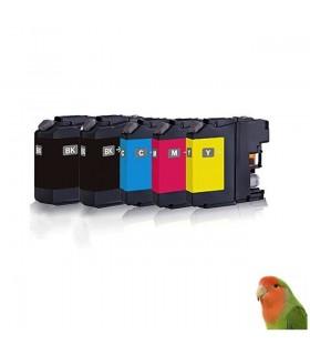 5 Tintas para LC223 MFC-J4420DW J4620DW J680DW J880 DCP-J4120DW J562DW