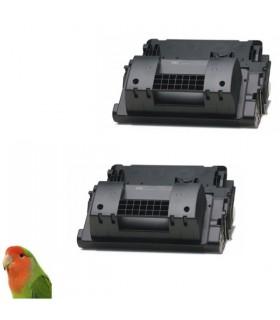 pack 2 toners HP CC364X NEGRO Nº64X PARA LASERJET P4015 P4515 (25000 PÁG.) compatibles