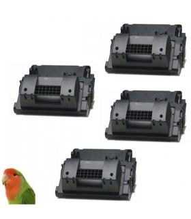 PACK 4 TONER HP CC364X / 64X toner compatible HP Laserjet P4015 P4515