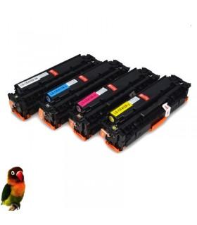 HP CE410X/1/2/3A HP 305X/305A Pack 4 toner compatibles Laserjet M351 M451 M475