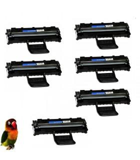 Pack 6 Toner compatible para Samsung ML1640 ML1641 ML2240 ML2241