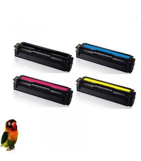 Pack 4 toners compatibles para Samsung CLP-415/SL-C1810/SL-C1860/CLX-4195 504S