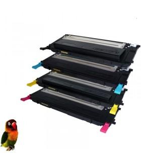 Pack 4 toner compatibles para Samsung CLP320/CLP325/CLX3180/CLX3185 CLT-4072S