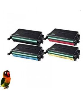 Pack 4 toner compatibles para Samsung CLP-770/CLP-775 CLT-6092S
