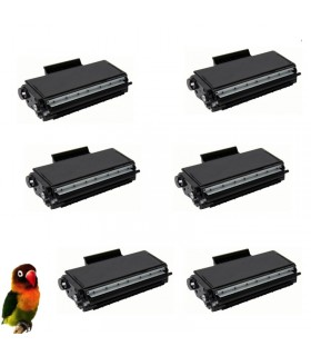 6 Toner compatible para Brother TN3280 HL5340/HL5350/DCP8085/MFC8880/MFC8370