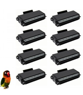 8 Toner compatible para Brother TN3280 HL5340/HL5350/DCP8085/MFC8880/MFC8370