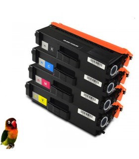 4 Toner compatibles TN326 Brother DCP-L8400/8450 HL-L8250/8300/8350 MFC-L8650