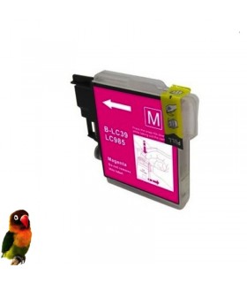 Tinta MAGENTA compatible Brother LC985M DCP-J125 DCP-J140W DCP-J315W DCP-J515W