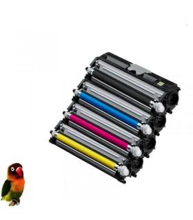 PACK 4 TONER compatibles Konica Minolta Magicolor 1600w 1650w 1680w 1690w