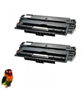 pack 2 Toner compatibles Q7516A HP Laserjet 5200