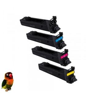 KONICA MINOLTA MAGICOLOR 4650 - 4690 - 4695 pack 4 toners compatibles