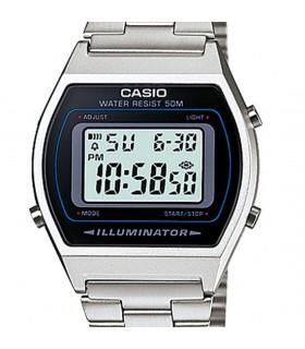 Reloj hombre mujer Retro Casio B640WD-1AVEF plateado