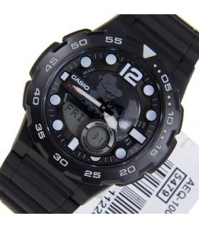 reloj hombre Casio AEQ-100W-1A Hora Mundial - Correa resina
