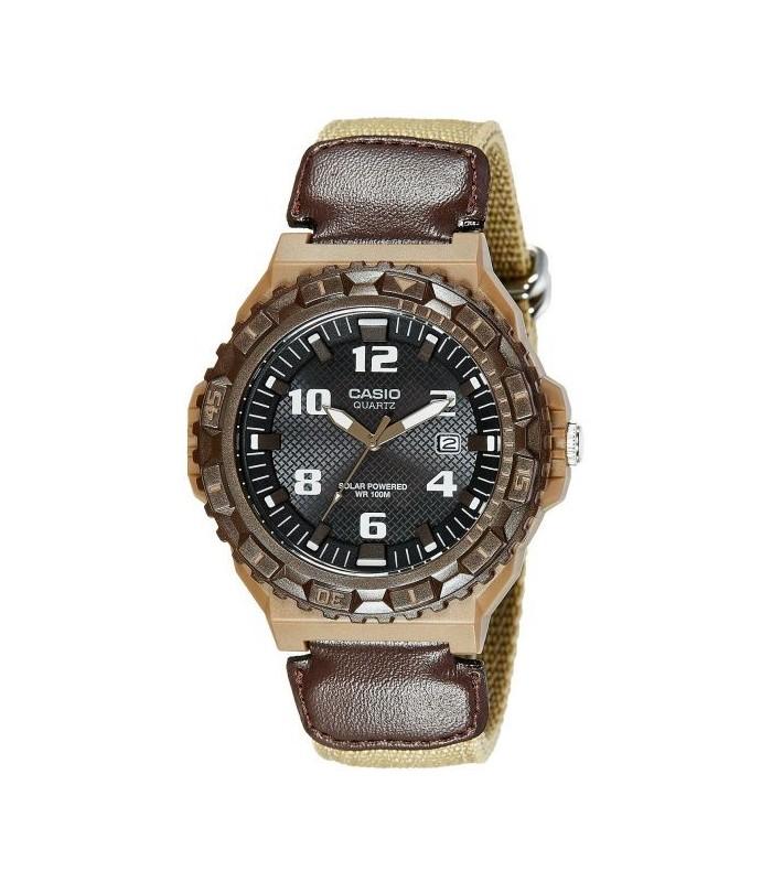 301a55309747 reloj hombre Casio SOLAR mrw-s300hb-5b correa tela militar camuflaje