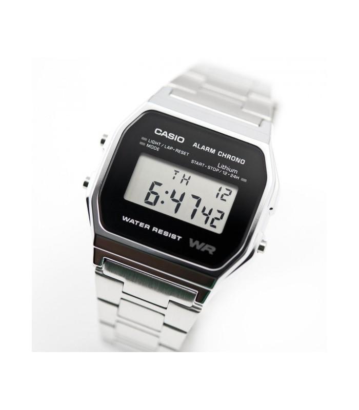543f608b2842 Reloj casio collection digital clásico retro A158WEA-1EF multifuncional -  acero inoxidable - wr
