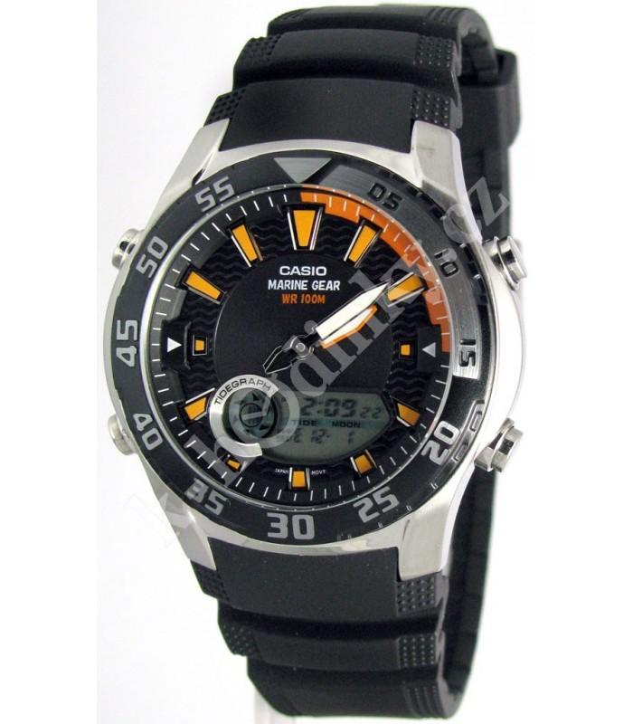 34e68aabbf69 Reloj Casio analogico AMW-710-1AV correa caucho