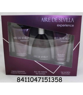 AIRE DE SEVILLA EXPERIENCE EDT 125 ML + BODY 150 ML + GEL 150 ML