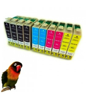 T1811/2/3/4 EPSON Pack tintas comp. T1811/2/3/4  / 18XL  : XP-102 , XP-202 , XP-205 , XP-30 , XP-302 , XP-305 , XP-402 , XP-405