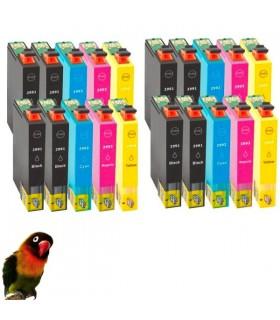 20 tintas T2991/2/3/4 (29XL) compatibles xp-235 / xp-330 / xp-332 / xp-335 / xp-435