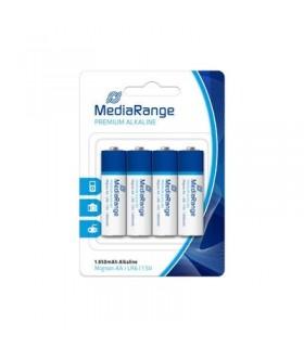 Pila Alcalina AA MediaRange pack 4 uds (LR6)