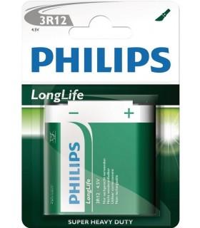 Philips pila de petaca 4.5 voltios 3R12