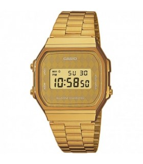 Reloj casio collection A-168WG-9BW retro