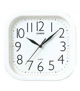 Reloj Casio Pared Analógico Blanco IQ-02-7R