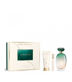 ADOLFO DOMINGUEZ UNICA EDT 100 ML + BODY LOTION 75 ML + EDT 10 ML