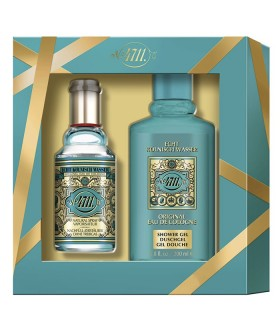 Estuche 4711 Original Eau de Cologne 90 ml Recargable + Gel de Ducha 200 ml