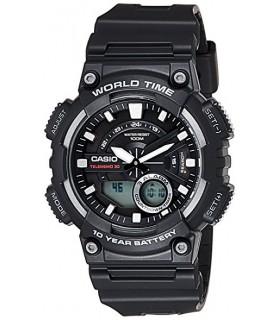 reloj hombre Casio aeq-110w-1a cronógrafo deportivo