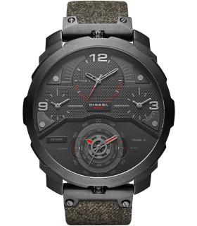 Reloj hombre Diesel Watches machinus DZ7358 correa tela 4 Timezone