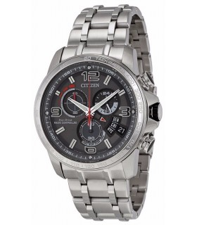 reloj hombre Citizen Eco-Drive A-T Men's watch BY0100-51H Chronograph Alarm ENERGIA SOLAR