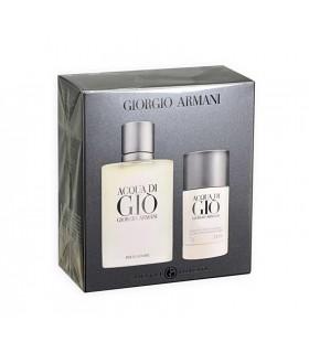 """Giorgio Armani """"Acqua di Gio"""" Pour Homme eau de toilette 100ml + 75gr deo stick"""
