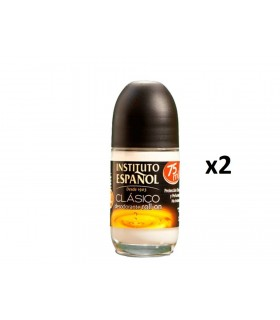 Pack 2 unidades Gotas De Oro Clasico Desodorante Roll-on 75ml -Instituto Español