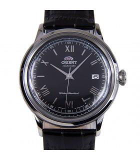 Reloj hombre automático Orient BAMBINO FAC0000AB negro correa cuero
