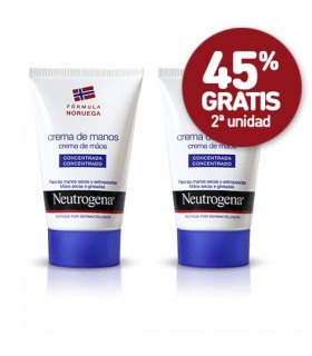 Crema de manos Neutrogena crema de manos Duplo 50 ml + 50ml