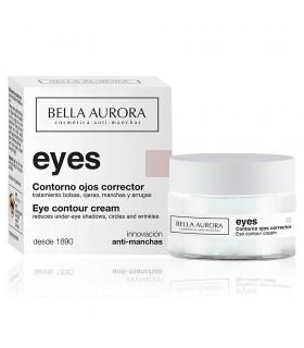 Crema Bella Aurora EYES contorno ojos multi-corrector 15ml