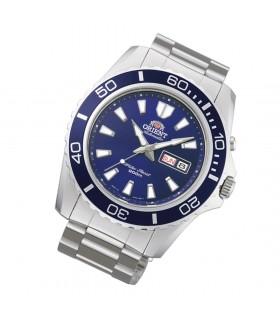 reloj automático hombre Orient Mako XL azul acero