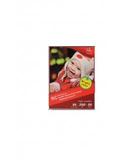 Papel fotografico 13x18cm b6 rc glossy inkjet photo paper 260g 50 hojas