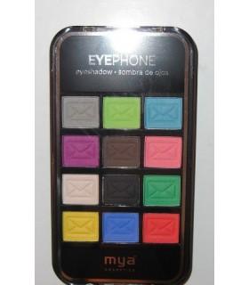 Estuche bolso SOMBRA DE OJOS Mya cosmetics Eyephone
