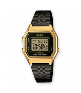 Reloj Casio Ladies LA680WEGB-1A Black Vintage Watch